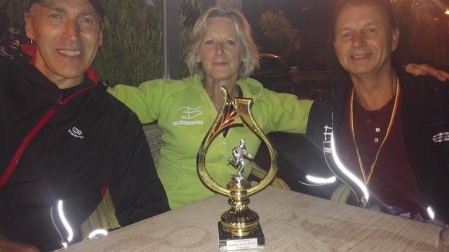 Onze recreanten presteerden knap op de fakkelloop te Huldenberg.  Marleen, Guido, Luc, Kobe, Alain en Ben eindigden 3de juist achter onze jeugd.  Winnaar werd de Huldenbergse Jeugdkring.